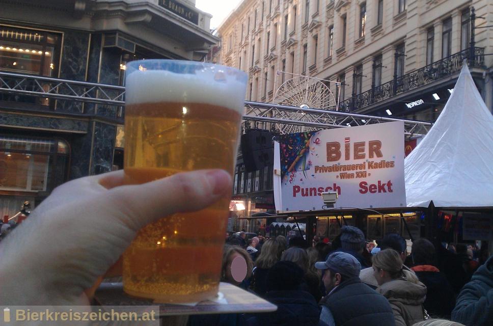 Foto eines Bieres der Marke Kadlez Bräu aus der Brauerei Brauerei Kadlez