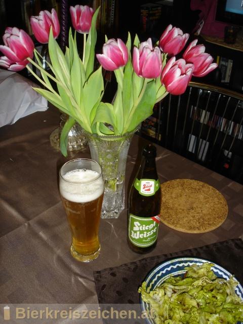Foto eines Bieres der Marke Stiegl Weisse Hollunder-Radler aus der Brauerei Stieglbrauerei