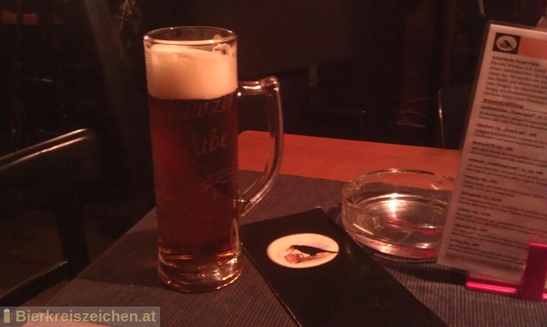 Foto eines Bieres der Marke Rabenbräu® aus der Brauerei Villacher Brauerei
