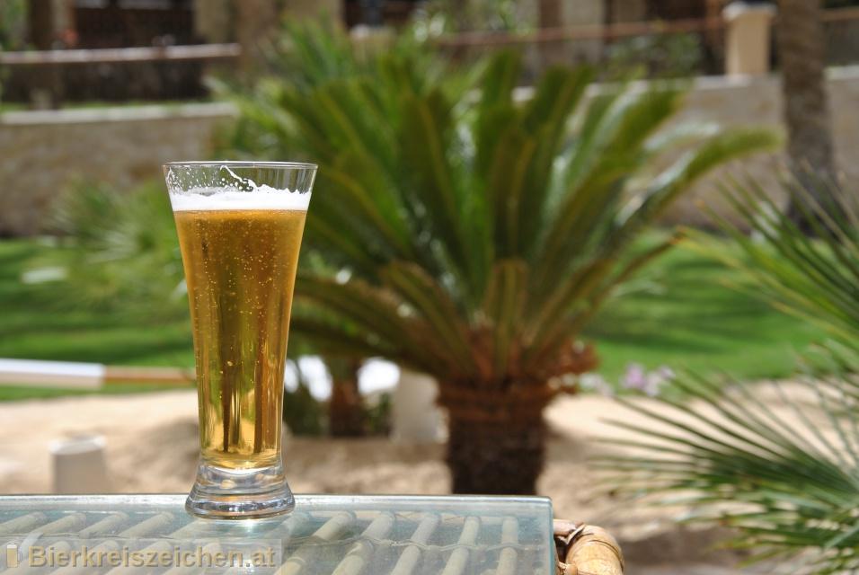 Foto eines Bieres der Marke Luxor Classic aus der Brauerei El Gouna Beverage Company