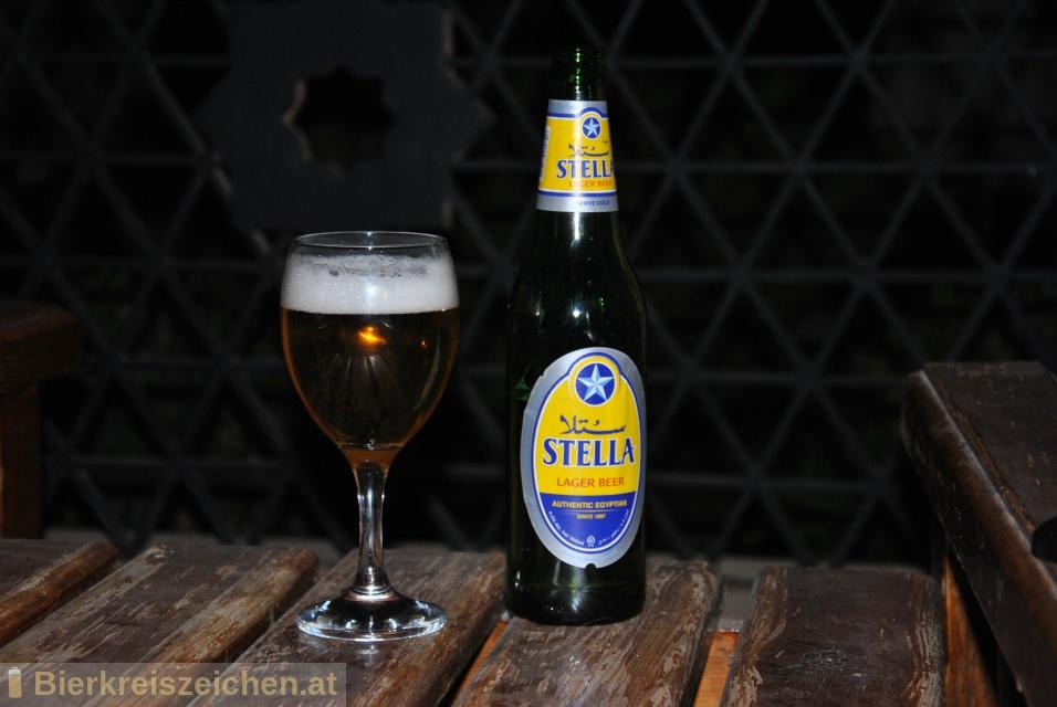 Foto eines Bieres der Marke Stella aus der Brauerei Al Ahram Beverages Company