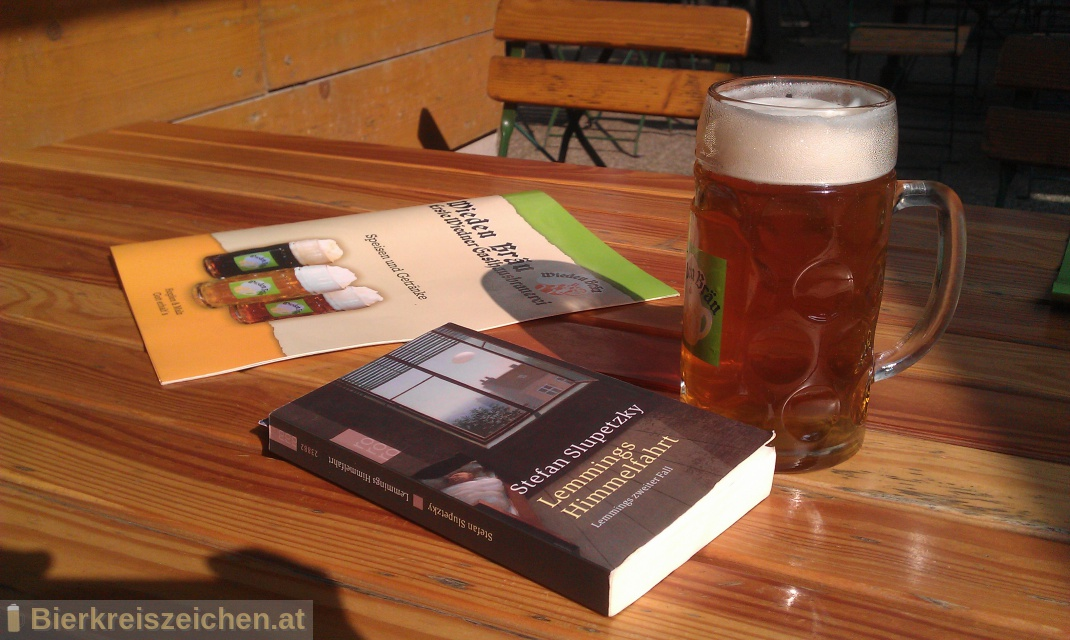 Foto eines Bieres der Marke Wieden Bräu