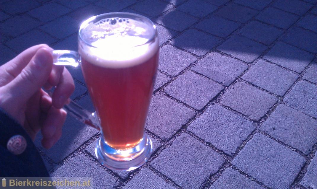 Foto eines Bieres der Marke Matador IPA aus der Brauerei Bierzauberei®