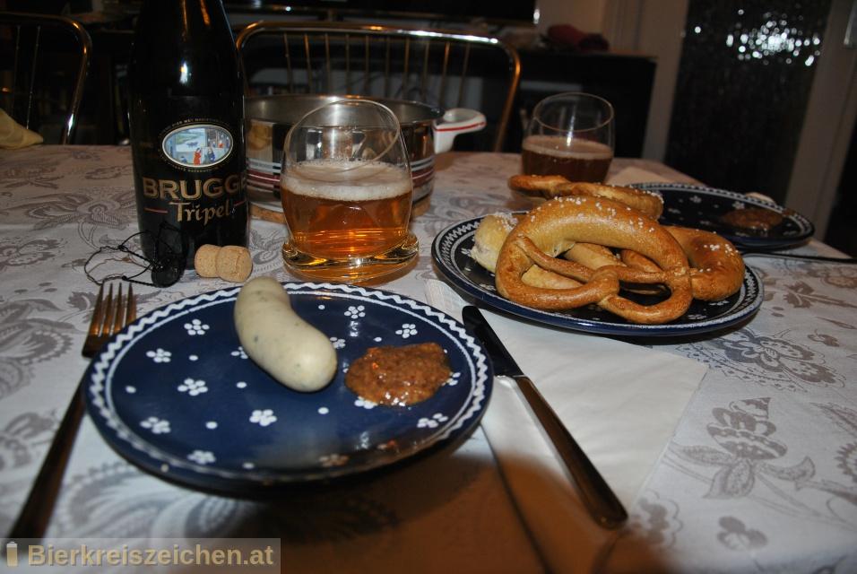 Foto eines Bieres der Marke Brugge Tripel aus der Brauerei PALM Breweries