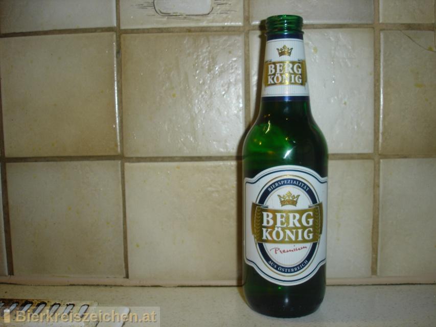Foto eines Bieres der Marke Bergkönig Premium aus der Brauerei Tigast Handelsgesellschaft