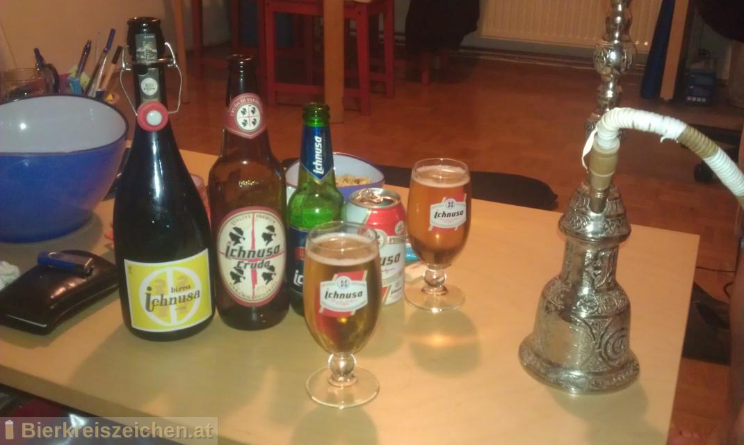 Foto eines Bieres der Marke Birra Ichnusa - Chent'Annos 2012 aus der Brauerei Birra Ichnusa