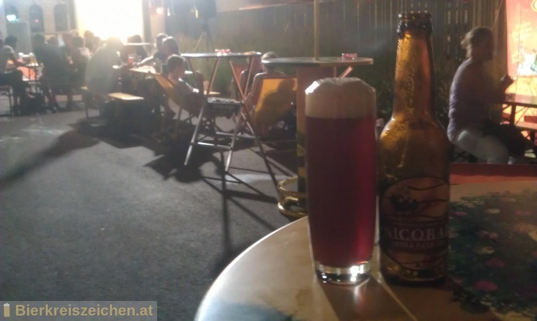 Foto eines Bieres der Marke Nicobar I.P.A. aus der Brauerei Brauerei Gusswerk