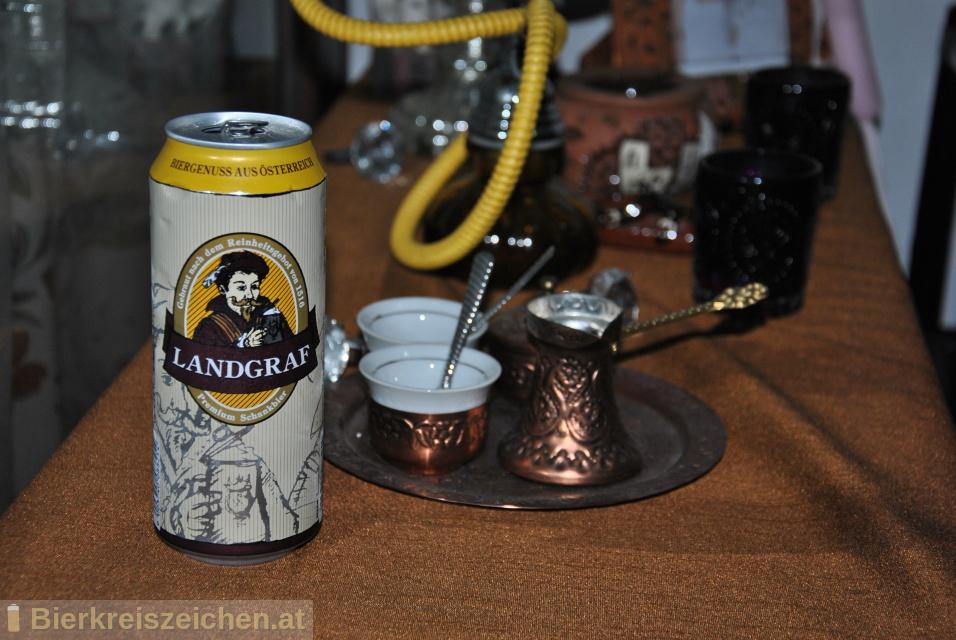 Foto eines Bieres der Marke Landgraf - Premium Schankbier aus der Brauerei Delikatessa