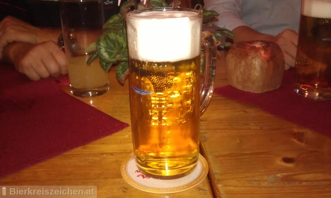 Foto eines Bieres der Marke Brückenbräu aus der Brauerei Bierwerkstatt Weitra