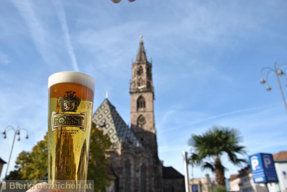 Foto eines Bieres der Marke Kronen aus der Brauerei Birra Forst SpA