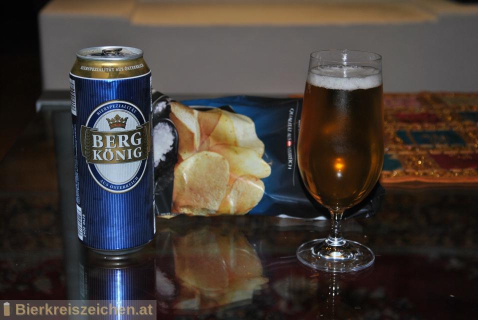 Foto eines Bieres der Marke Bergkönig aus der Brauerei Tigast Handelsgesellschaft