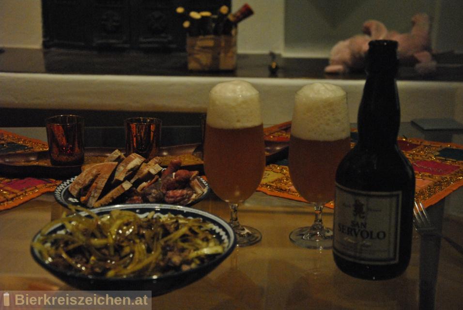 Foto eines Bieres der Marke San Servolo Svijetlo Pivo aus der Brauerei Bujska pivovara
