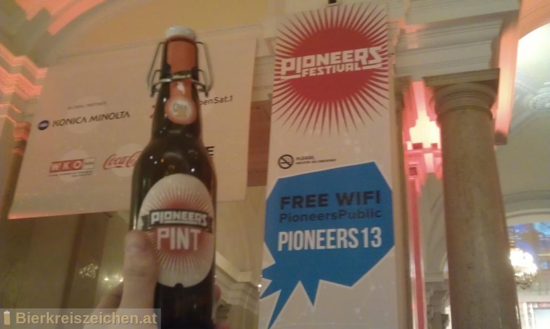 Foto eines Bieres der Marke Pioneers Pint aus der Brauerei Brauerei Gratzer