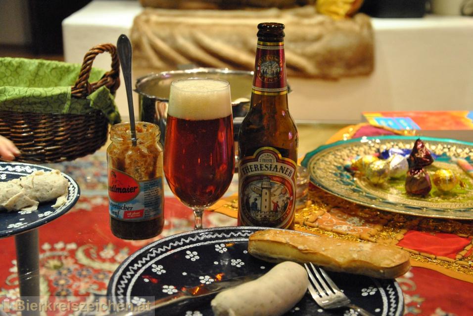 Foto eines Bieres der Marke Birra Vienna aus der Brauerei Theresianer - Antica Birreria di Trieste