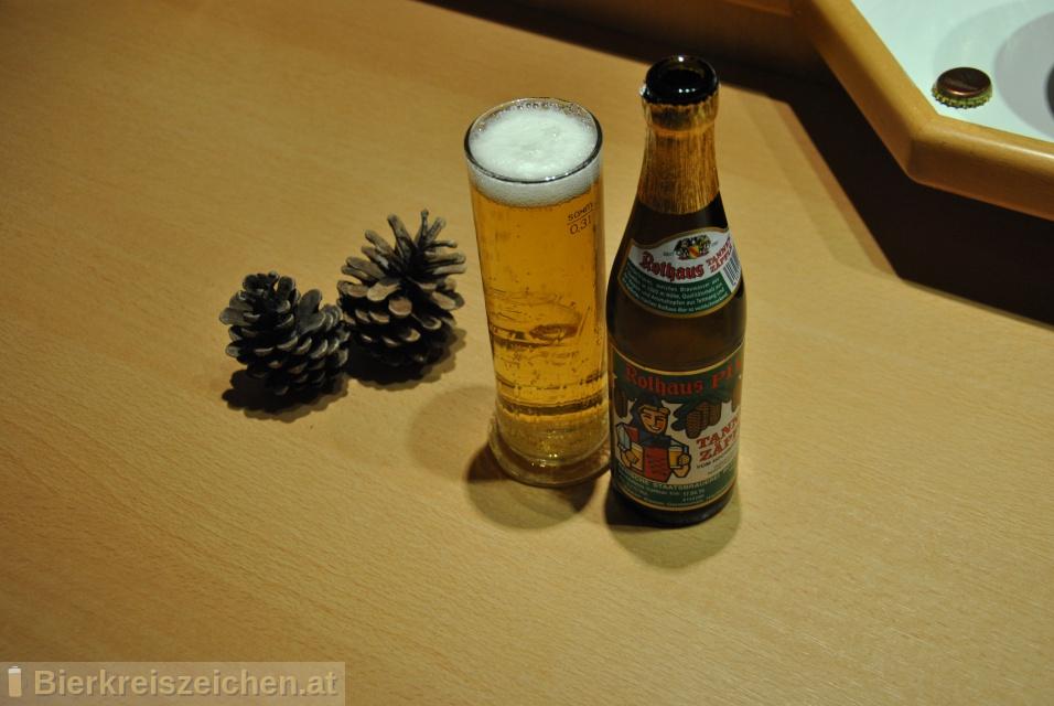 Foto eines Bieres der Marke Rothaus Pils aus der Brauerei Badische Staatsbrauerei Rothaus AG