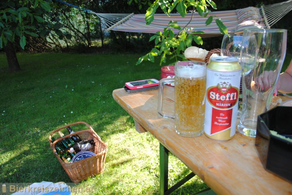 Foto eines Bieres der Marke Steffl Märzen aus der Brauerei Brau Union