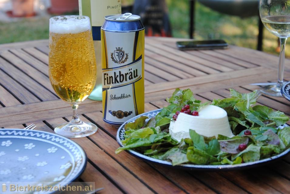 Foto eines Bieres der Marke Finkbräu Schankbier aus der Brauerei Karlsberg Brauerei GmbH