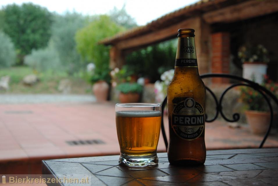 Foto eines Bieres der Marke Peroni Gran Riserva Doppio Malto aus der Brauerei Birra Peroni S.p.A.
