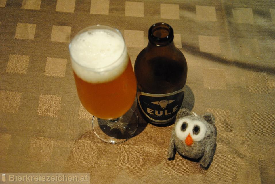Foto eines Bieres der Marke Eule Koffeinbier aus der Brauerei EULE