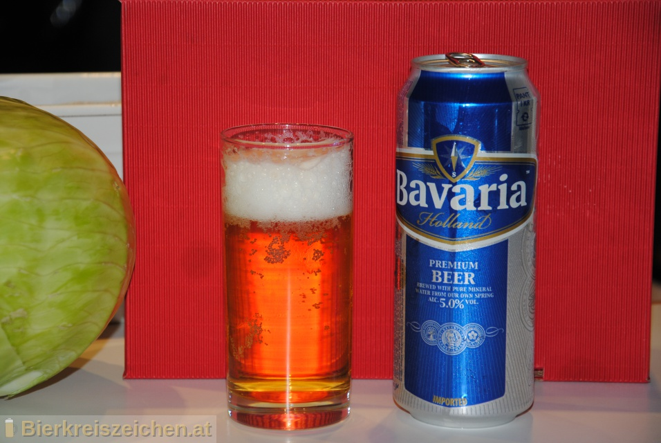 Foto eines Bieres der Marke Bavaria Premium aus der Brauerei Bavaria N.V.