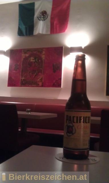 Foto eines Bieres der Marke Cerveza Pacífico Clara aus der Brauerei Cerveceria del Pacífico