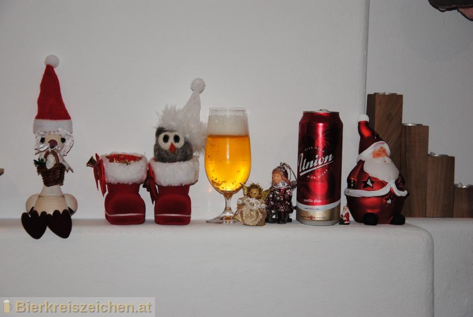 Foto eines Bieres der Marke Union Lager - svetlo Pivo aus der Brauerei Pivovarna Union d.d.