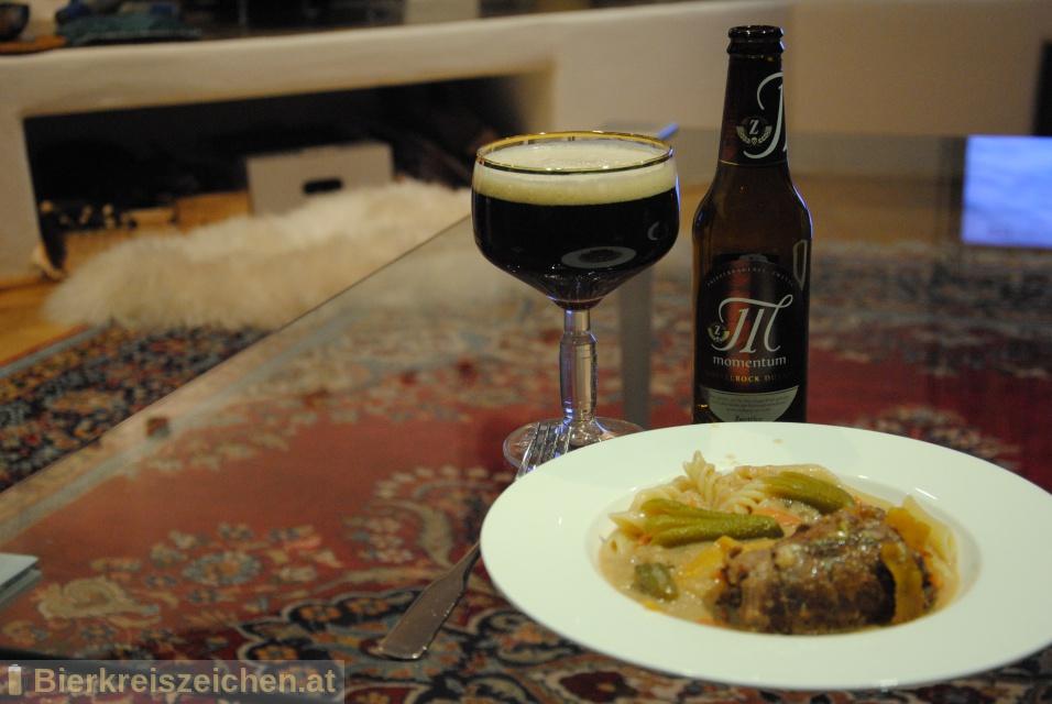 Foto eines Bieres der Marke Zwettler Momentum aus der Brauerei Privatbrauerei Zwettl