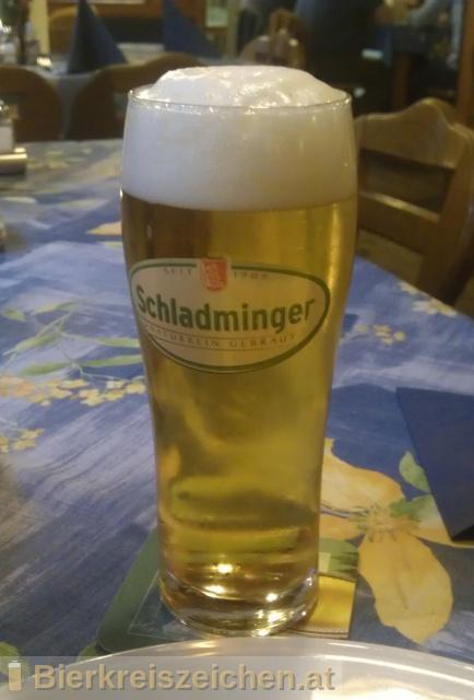 Foto eines Bieres der Marke Schladminger Märzen aus der Brauerei Schladminger