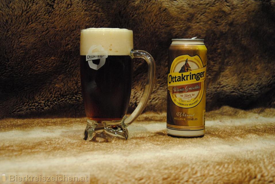 Foto eines Bieres der Marke Ottakringer - Wiener G'mischtes aus der Brauerei Ottakringer Brauerei