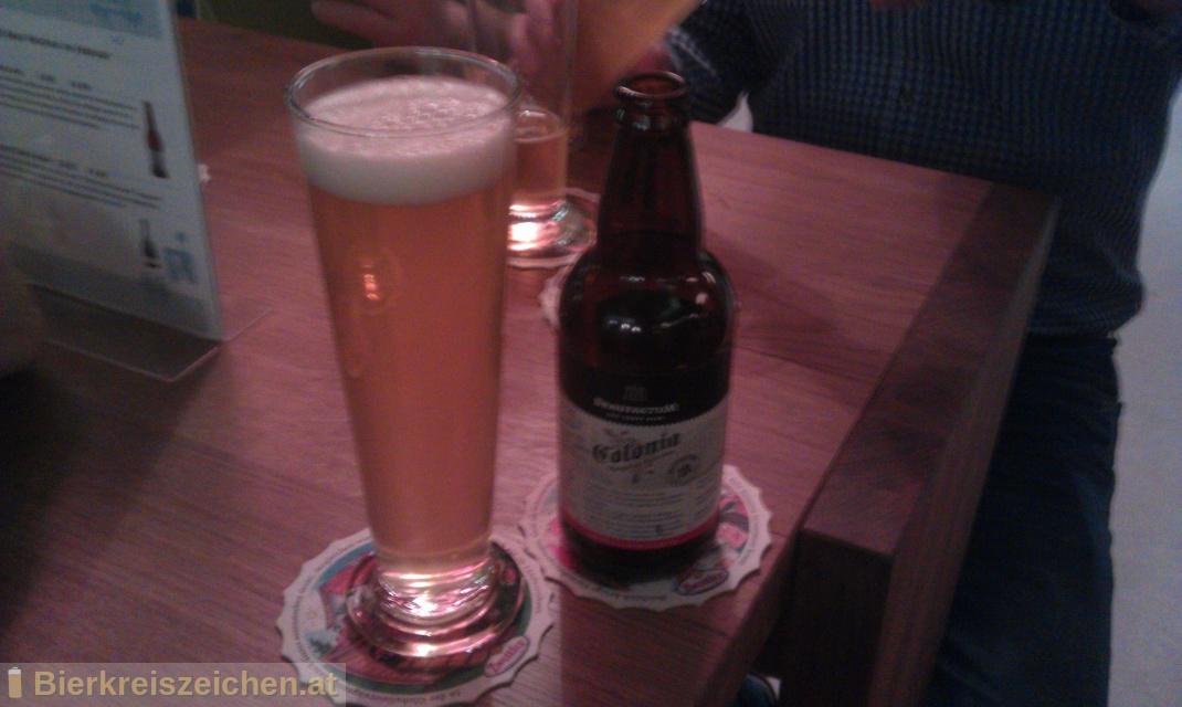 Foto eines Bieres der Marke Braufactum Colonia aus der Brauerei BraufactuM