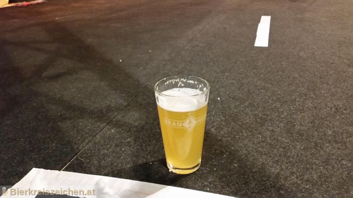 Foto eines Bieres der Marke Hausmarke 1 - Blond aus der Brauerei Brauwerk