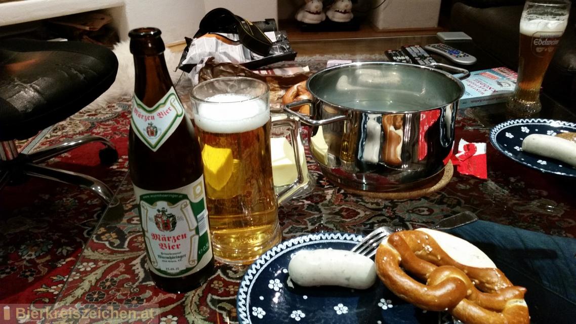 Foto eines Bieres der Marke Wurmhöringer - Märzenbier aus der Brauerei Wurmhöringer