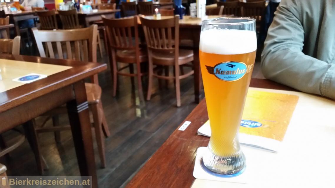 Foto eines Bieres der Marke Kumulus aus der Brauerei Airbräu