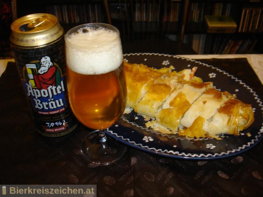 Foto eines Bieres der Marke Apostel Bräu aus der Brauerei Privatbrauerei Eichbaum