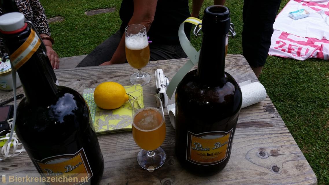 Foto eines Bieres der Marke Märzen aus der Brauerei Poldi Bier