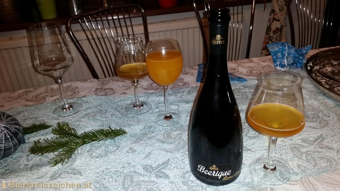 Foto eines Bieres der Marke Hirter Beerique - Limited Edition aus der Brauerei Brauerei Hirt