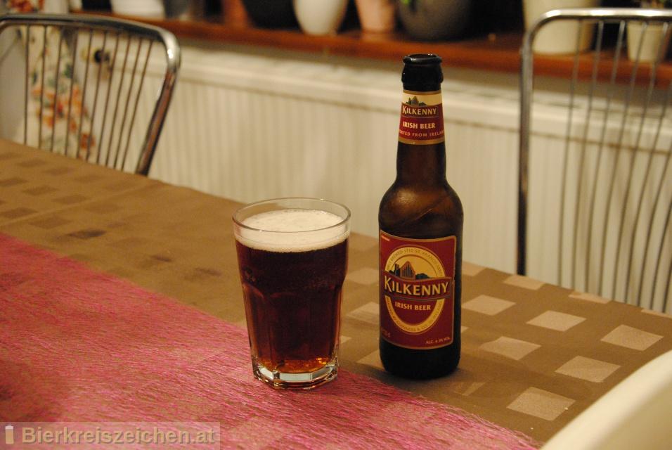 Foto eines Bieres der Marke Kilkenny aus der Brauerei Guinness
