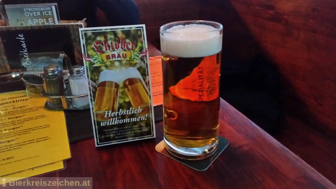 Foto eines Bieres der Marke Oktoberbräu aus der Brauerei Brau Union