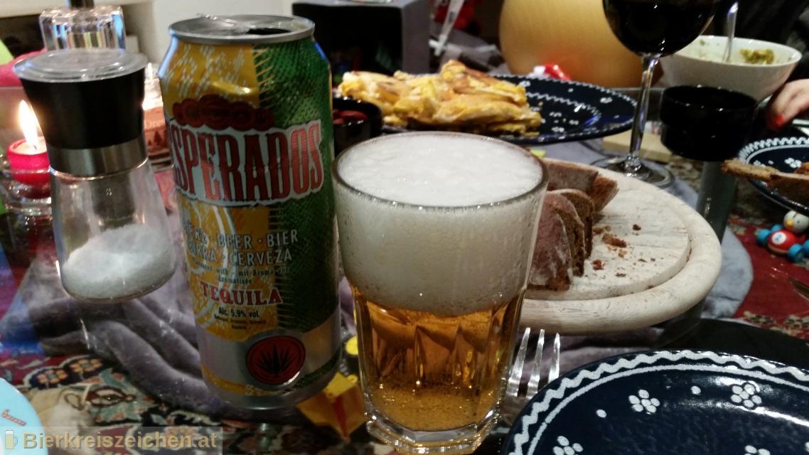 Foto eines Bieres der Marke Desperados aus der Brauerei Heineken