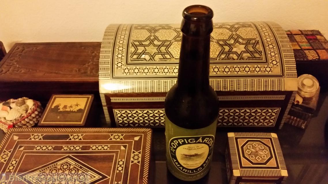 Foto eines Bieres der Marke Oppigards Amarillo aus der Brauerei Oppigårds Bryggeri