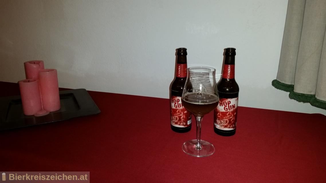Foto eines Bieres der Marke Camba Hop Gun aus der Brauerei Camba Bavaria