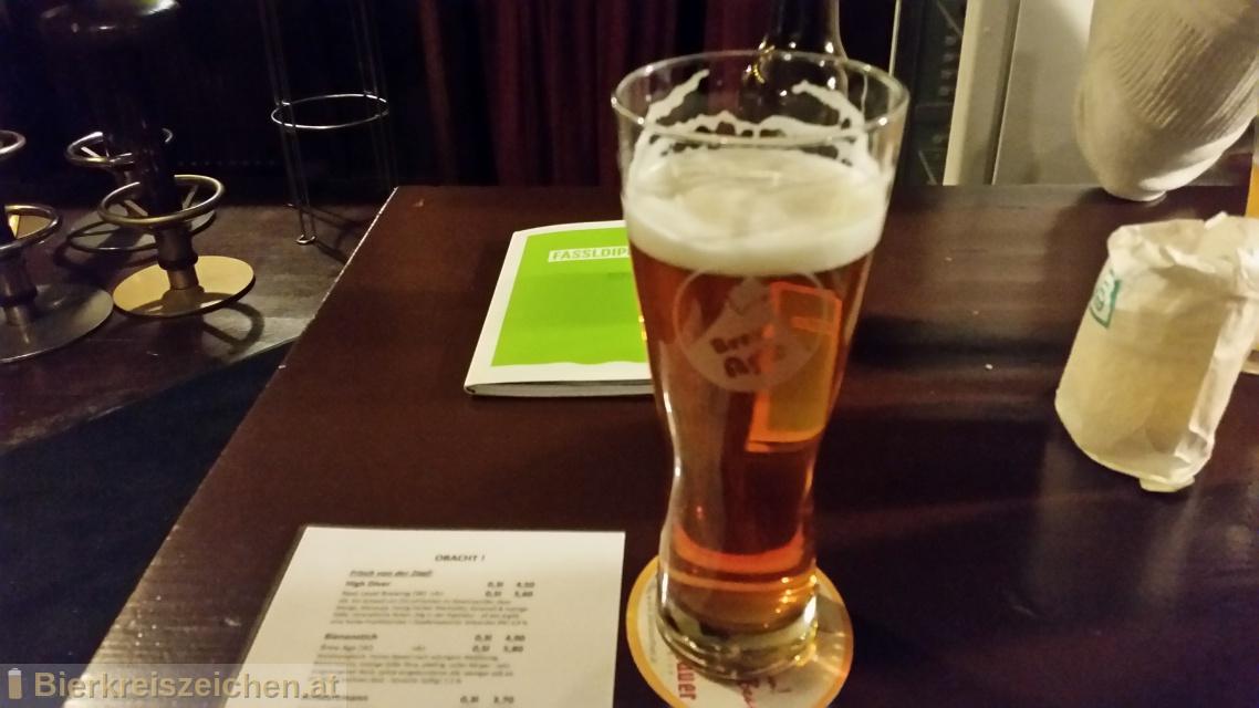 Foto eines Bieres der Marke Bienenstich - Honigbockbier aus der Brauerei Brew Age