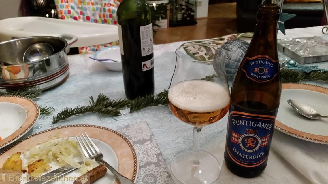 Foto eines Bieres der Marke Puntigamer Winterbier aus der Brauerei Brauerei Puntigam