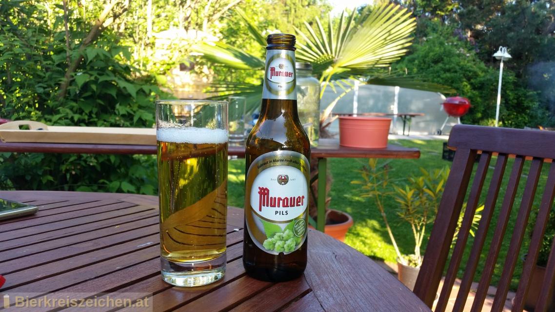 Foto eines Bieres der Marke Murauer Pils aus der Brauerei Brauerei Murau