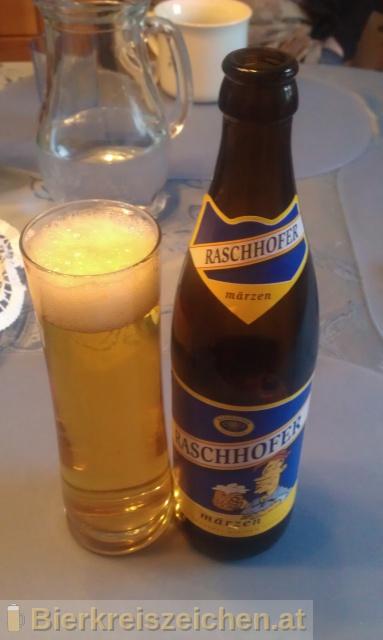 Foto eines Bieres der Marke Raschhofer Märzen aus der Brauerei Brauerei Raschhofer