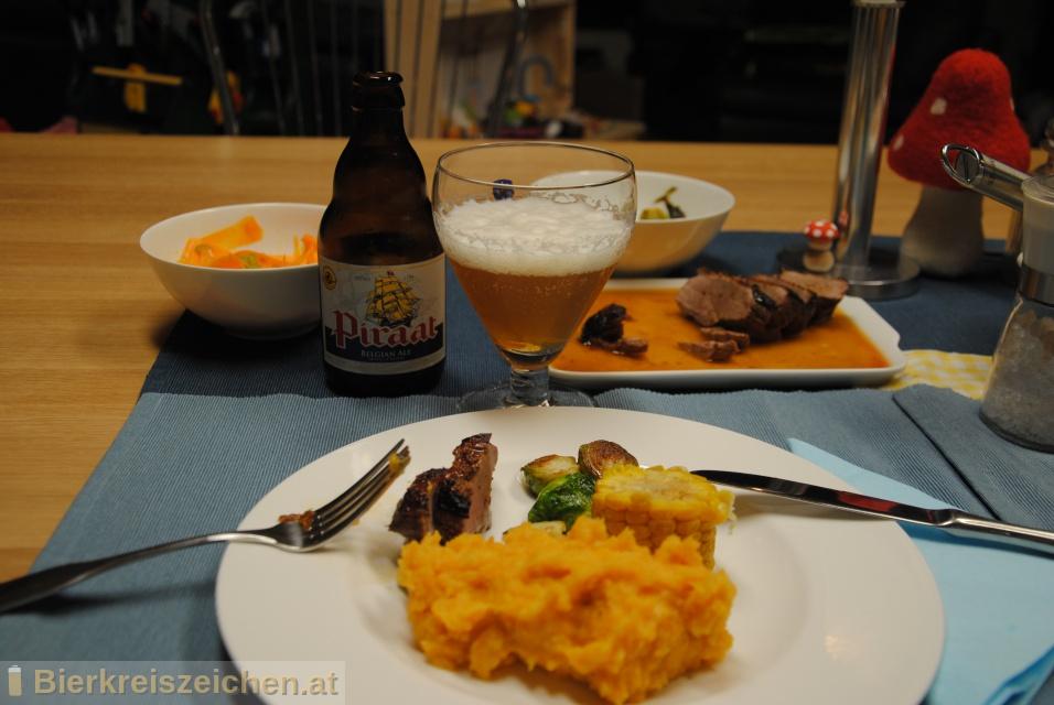 Foto eines Bieres der Marke Piraat aus der Brauerei Brouwerij Van Steenberge