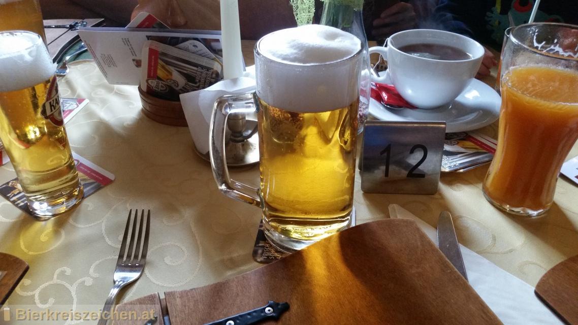 Foto eines Bieres der Marke Kaiser Bier Premium aus der Brauerei Brauerei Wieselburg