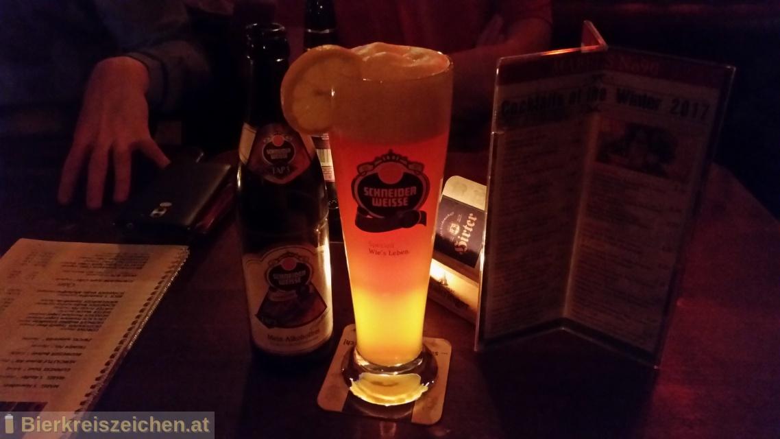 Foto eines Bieres der Marke TAP3 - Mein Alkoholfreies aus der Brauerei Schneider Weisse