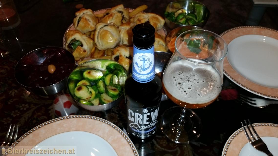 Foto eines Bieres der Marke Drunken Sailor aus der Brauerei CREW Republic