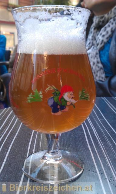 Foto eines Bieres der Marke La Chouffe aus der Brauerei Brasserie d'Achouffe